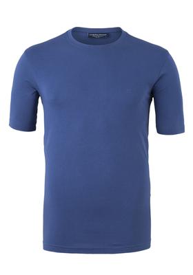 Casa Moda  T-shirt, O-neck, jeansblauw