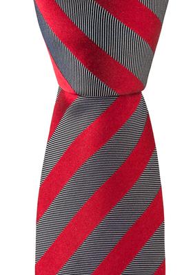 Eterna  stropdas, rood gestreept