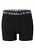 Muchachomalo boxershorts, 2-pack, zwart en wit