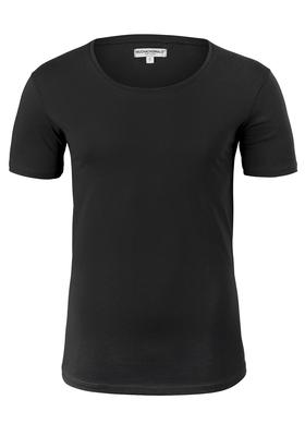 Muchachomalo lounge T-shirt O-hals, zwart