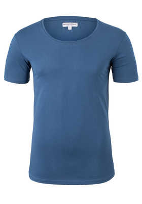 Muchachomalo lounge T-shirt O-hals, blauw
