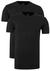 Claesen's Basics T-shirts (2-pack), heren T-shirts O-hals, zwart