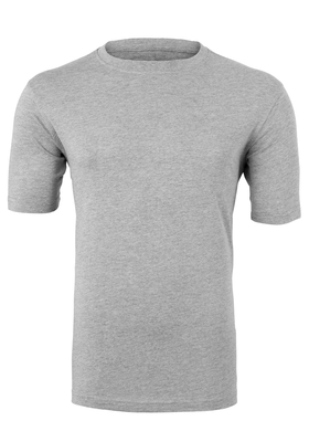 Casa Moda  T-shirt, O-neck, grijs gêmeleerd