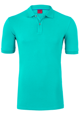OLYMP Level 5 Body Fit poloshirt (stretch), turquoise