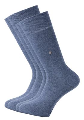 Actie 2-pack: Burlington sokken katoen (Everyday), jeansblauw