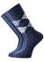 Tommy Hilfiger herensokken (2-pack), jeans blauw geruit