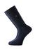 Voorbeeld van de blauwe sokken