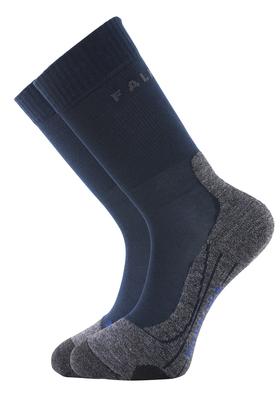 Falke TK2 cool heren wandelsokken, blauw