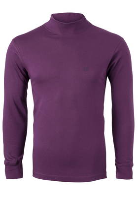 Alan Red T-shirt Illinois, turtleneck, paars