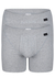 SCHIESSER Authentic shorts (2-pack), met gulp, grijs