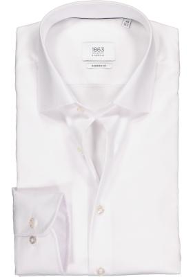 ETERNA 1863 modern fit premium overhemd, 2-ply twill heren overhemd, wit