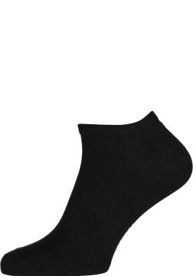 Tommy Hilfiger Sneaker Socks (2-pack), heren enkelsokken katoen, zwart
