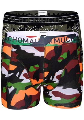 Muchachomalo boxershorts, 2-pack,  Army
