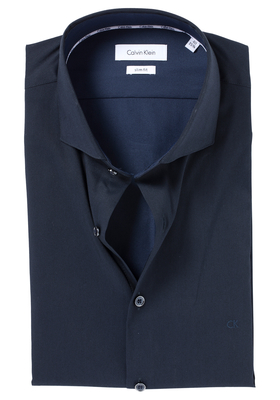 Calvin Klein Slim Fit overhemd (Norwich), blauw (midnight blue)