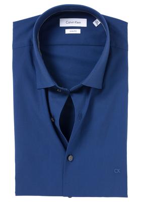 Calvin Klein Slim Fit overhemd (Bari), jeansblauw (denim)