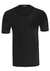 SCHIESSER American T-shirts (2-pack), V-hals, zwart