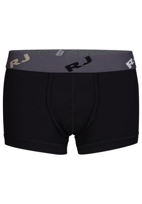 RJ Bodywear Pure Color, heren trunk, zwart (micro)