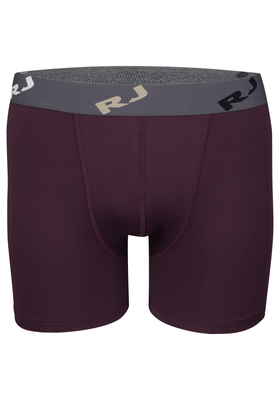 RJ Bodywear Pure Color, heren boxershort, aubergine