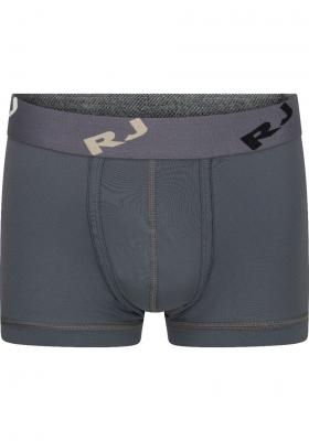 RJ Bodywear Pure Color, heren trunk, grijs (micro)