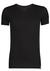 RJ Bodywear The Good Life, Smart T-shirt V-hals, zwart