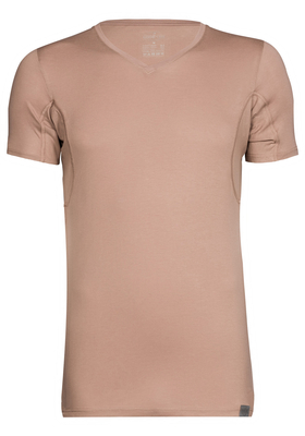 RJ Bodywear The Good Life, Sweatproof T-shirt, oksel, zand