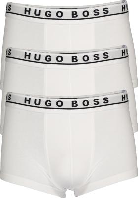 HUGO BOSS trunk (3-pack), heren boxers kort, wit