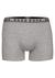 HUGO BOSS boxer brief (3-pack), heren boxers normale lengte, zwart, wit en grijs