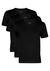 Actie 3-pack: Hugo Boss T-shirts Regular Fit, O-hals, zwart