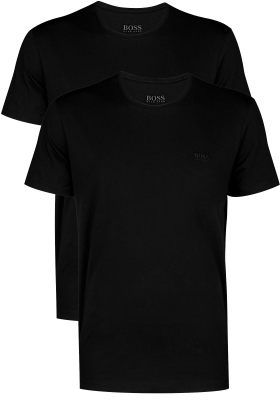 2-pack: Hugo Boss T-shirts Relaxed Fit, O-hals, zwart