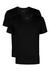 2-pack: Hugo Boss T-shirts Relaxed Fit, V-hals, zwart