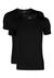 2-pack: Hugo Boss stretch T-shirts Slim Fit, O-hals, zwart