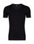 2-pack: Hugo Boss stretch T-shirts Slim Fit, V-hals, zwart