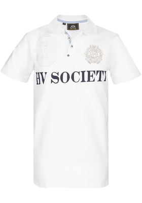 HV Polo Favouritas, Regular Fit polo, wit