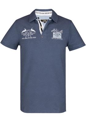 HV Polo Freemont, Regular Fit polo, jeans blauw melange (Denim melange)