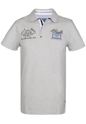 HV Polo Freemont, Regular Fit polo, licht grijs melange (Silvergrey melange)