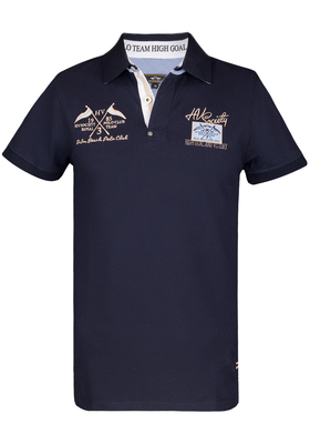 HV Polo Freemont, Regular Fit polo, donkerblauw (Navy)