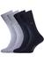 Calvin Klein, Carter herensokken (2-pack), denim en grijs