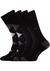 Calvin Klein, Wyatt herensokken (2-pack), zwart geruit en uni