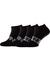Calvin Klein, Dirk herensokken (2-pack), zwarte enkelsokken met logo