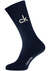 Calvin Klein, Karl herensokken (2-pack), grijze en blauwe logosokken