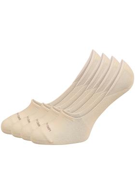 Calvin Klein, Luca herensokken (2-pack), beige no show sneakersokken