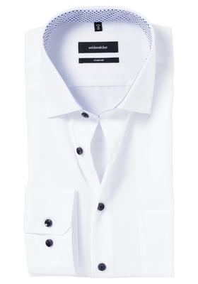 Seidensticker Comfort Fit overhemd, wit (contrast)