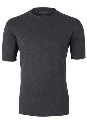 Casa Moda  T-shirt, O-neck, antraciet gêmeleerd