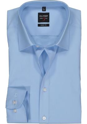 OLYMP Level 5 body fit overhemd, lichtblauw