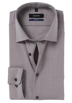 Seidensticker Tailored Fit, lichtbruin (contrast)