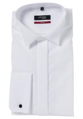 Seidensticker Regular Fit overhemd, wit smoking hemd