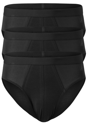 ACTIE: Ten Cate Basics heren sport slips, 3-pack, zwart
