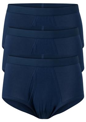 Ten Cate Basics heren heupslips, 3-pack, blauw