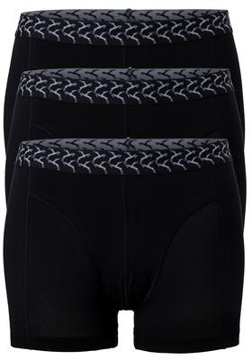 Ten Cate Basics heren boxershorts, 3-pack, zwart