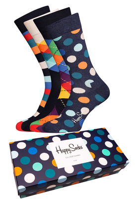 Happy Socks herensokken, Mix Gift Box